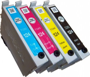 Epson T124 cartridges on white_sm