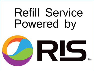 RIS Logo_NEW_Refill Service Powered by_with border - Copy