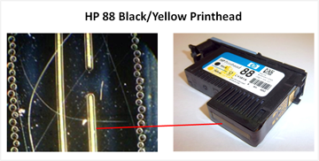 HP 88 Black-Yellow Printhead