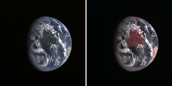NASA_Earth false imagery