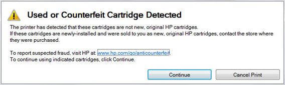 HP 902, 902XL Ink Cartridge Errors | INKJET411